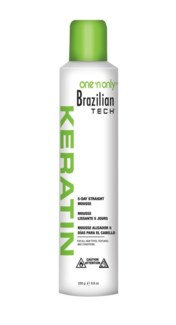 One & Only keratin 5-Day Straight Mousse