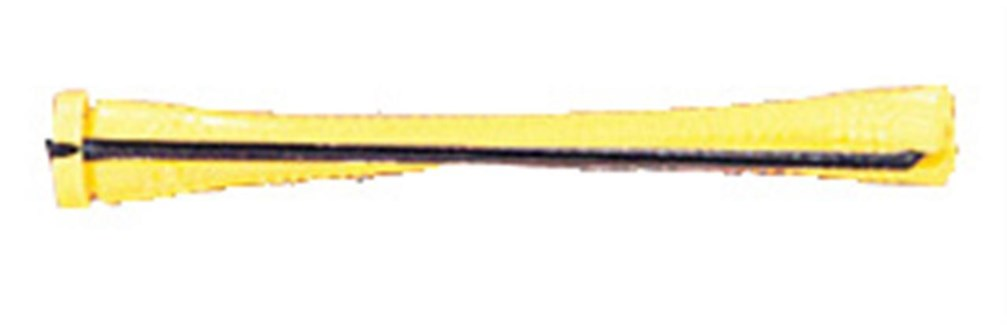Dozen Cold Wave Rods Long Yellow