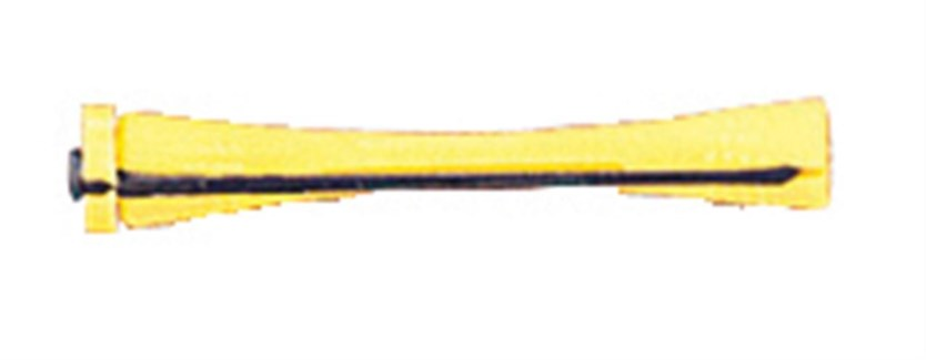 Dozen Cold Wave Rods Short Yellow