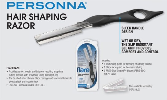 Personna Hair Shaping Razor