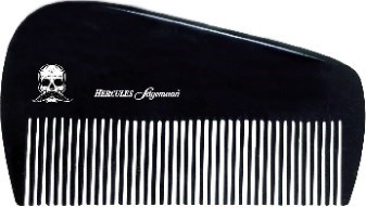 "Hard Rubber Beard Comb 3.5"" JF18"