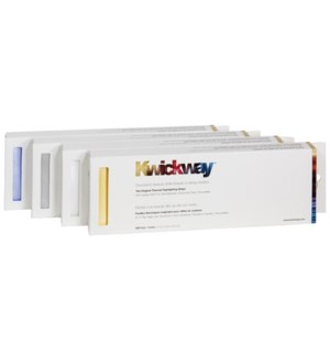 KWICKWAY Gold Highlight Strips 12X3