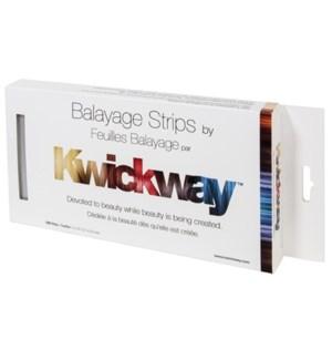 BALAYAGE Silver Strips 10X5 150