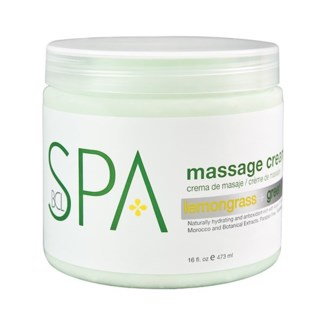 Lemongrass Green Tea Massage Cream 16oz