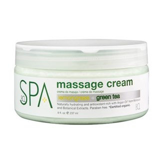 Lemongrass Green Tea Massage Cream 8oz