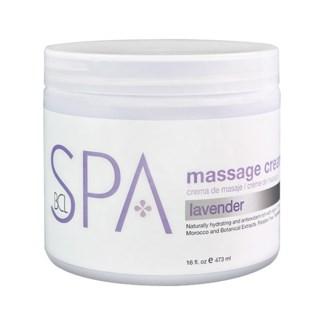 Lavender Mint Massage Cream 16oz