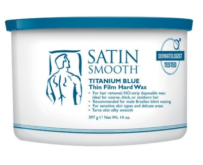 Blue Thin Film Hard Wax FOR MEN