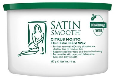 Satin Smoot Citrus Mojito Hard Wax