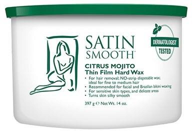 Satin Smoot Citrus Mojito Hard Wax