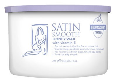 SATIN SMOOTH Honey Wax ALL PURPOSE