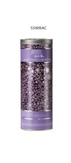 SS Amethyst Crystal Pebble Wax 23oz JF18