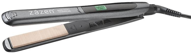 "Zazen 1"" Digital Silk Plates Flat Iron"