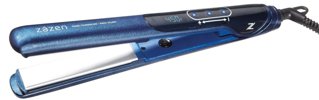 "Zazen 1"" Touch Screen Flat Iron"