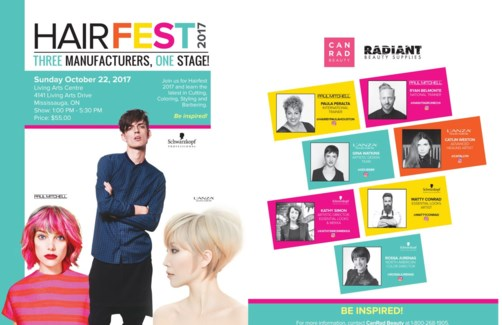 HAIRFEST 2017 OCT 22/17 MISSISSAUGA