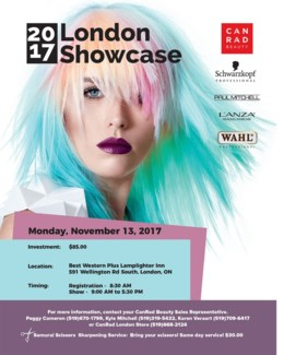 LONDON Showcase Nov 13/17