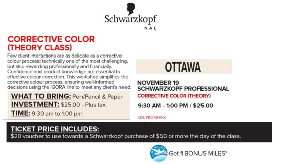 ! SCH CORRECTIVE COLOR NOV 19/18 OTT +AM