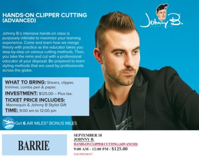 ! JB CLIPPER CUT ADVAN SEP 18/17 + AM BA