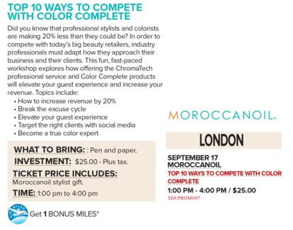 ! MOR COMPETE WITH COLOR SEP17/18 LON+AM