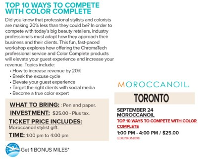 ! MOR COMPETE WITH COLOR SEP24/18 TORO