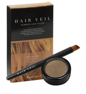 FHI HAIR VEIL Drk Blnd Powder Hair Fill