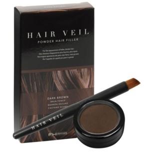 FHI HAIR VEIL Drk Brown Powder Hair Fill