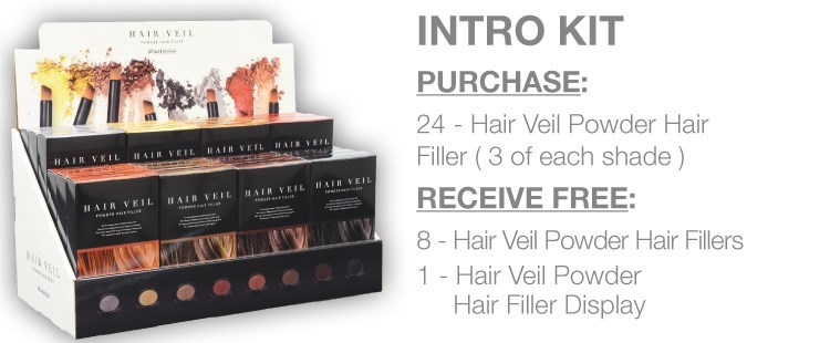 ! FHI HAIR VEIL Intro Kit Plus Testers