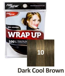 HH #10 Dark Cool Brown Wrap Up Bun EXTE