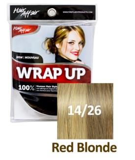 HH #14/26 Red Blonde Wrap Up Bun EXTENS