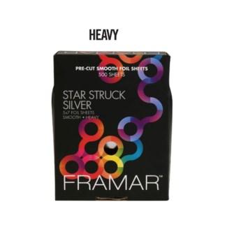 500 Star Struck Slver Hvy 5x7 Foil SMOOT
