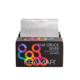 5X11 Star Struck Silver Foil 500