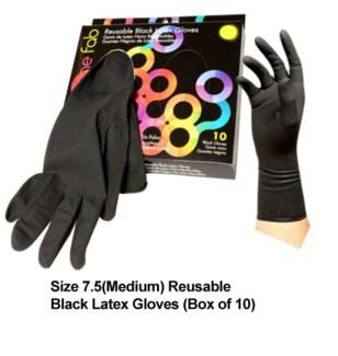 10pk Color Me Fab Gloves SZ 7.5