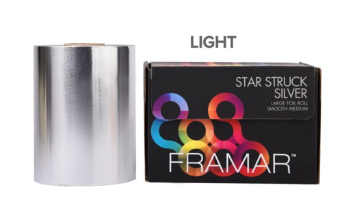 Roll Star Struck Silver Light Foil