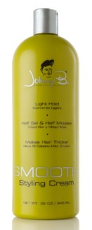 JOHNNY B SMOOTH STYLING CREAM 32oz