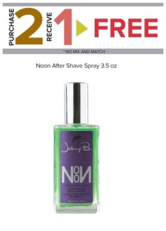 ! 2+1 JOHNNY B NOON AFTER SHAVE SPRAY