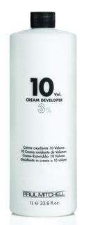 Litre 10 Vol Cream Developer PM 32oz