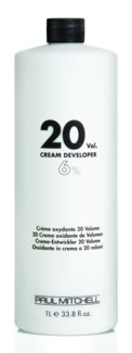 Ltr 20 Vol Cream Developer PM