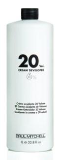Ltr 20 Vol Cream Developer PM