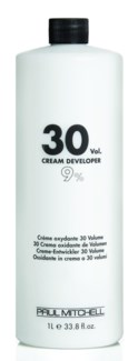 Litre 30 Vol Cream Developer PM 32oz