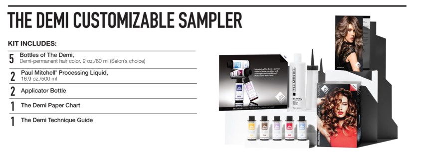 The Demi Sampler Kit PM CHOOSE5COLOR