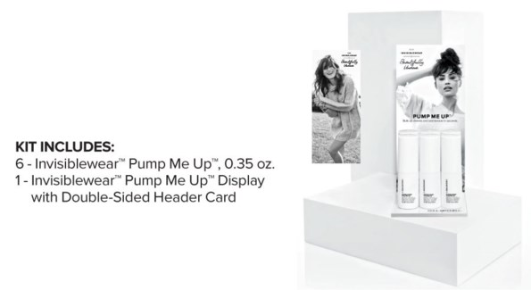 INVISIBLEWear Pump Me Up Display 2018