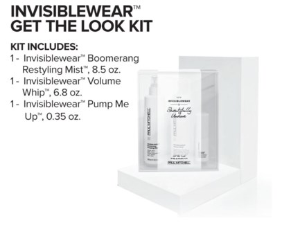 INVISIBLEWear Get The Look Kit SO17