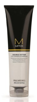 250ml MITCH Dble Hitter 2In1 Sham & Cond