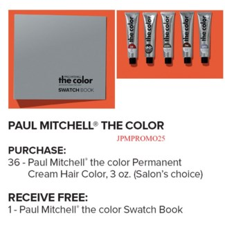 ! PM Color Swatch Book BUY36COLOR JA17