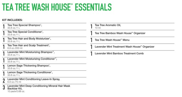 Tea Tree Wash House Essentials PM