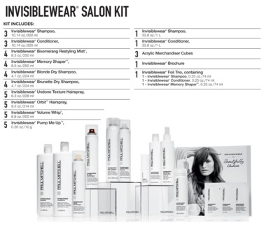 INVISIBLEWear Salon Kit 2018 PM
