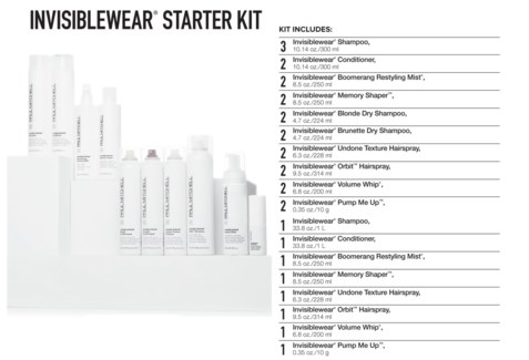 INVISIBLEWear Starter Kit 2018 PM