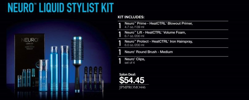 $BF    NEURO Liquid Blowout Stylist Kit