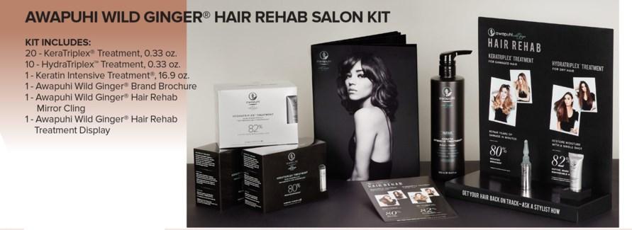 AWG Hair REHAB Salon Kit MA18