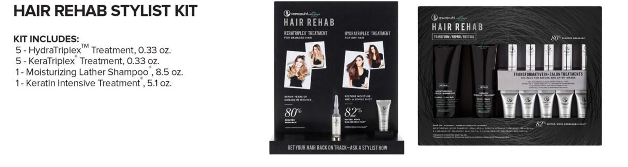 AWG Hair REHAB Stylist Kit MA18
