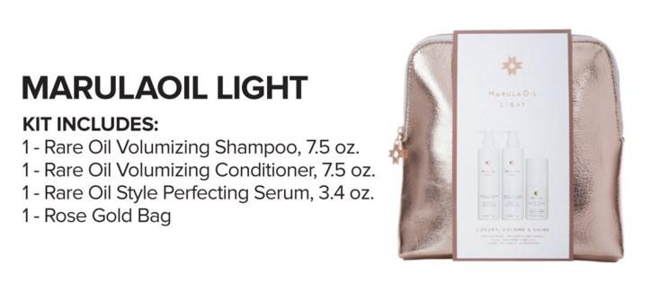 MARULAOIL Light Luxury Kit MJ18